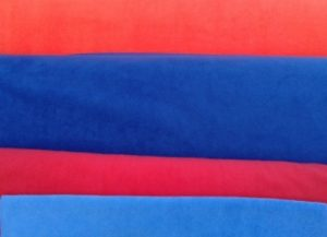 Red, Blue, Pink, Light Blue
