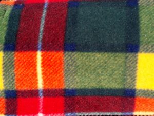 Buchannan tartan fabric
