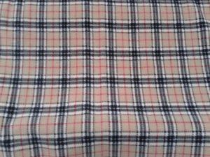 Burbery plaid fabric